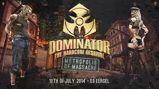 Dominator 2014 Metropolos of Massacre - Hardcore - Goosebumpers #FM23