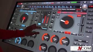 MIXER AVEC UNE TABLE TACTILE & VIRTUAL DJ by Djeff E (Led and Com Vente & Location)
