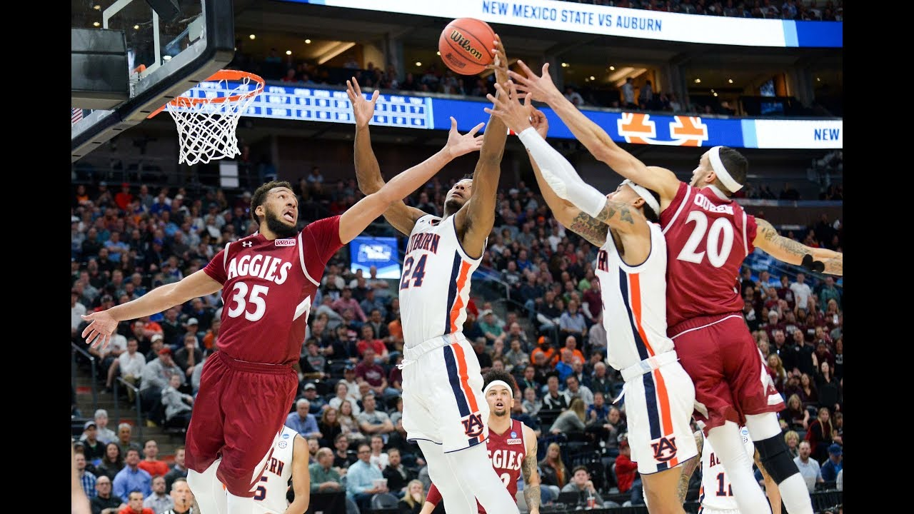 March Madness 2019: Auburn basketball vs. New Mexico State score, live updates