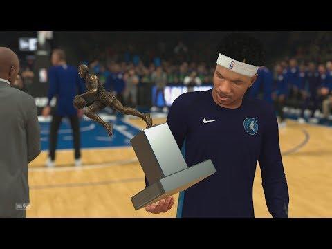 NBA 2K18 My Career - MVP Award 75 Wins! PS4 Pro 4K Gameplay