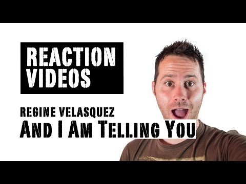 Regine Velasquez sings 'And I Am Telling You' at the 1989 Asia Pacific Singing Contest | REACTION