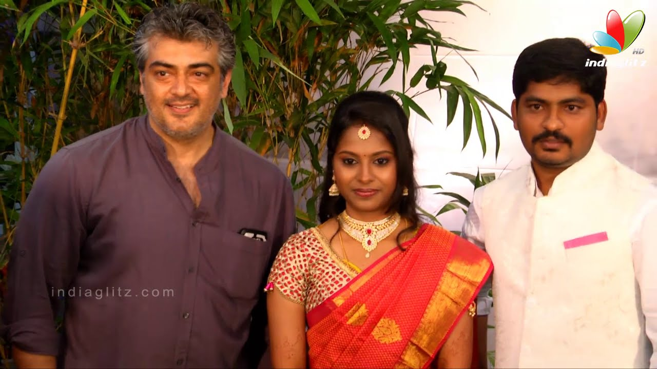 Ajith Manager Suresh Chandras Daughter Wedding Reception