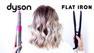 Dyson Airwrap vs Flat Iron Waves (24 Hour Wear Test) | Milabu