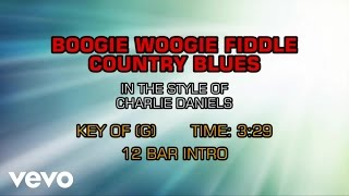 The Charlie Daniels Band - Boogie Woogie Fiddle Country Blues (Karaoke)