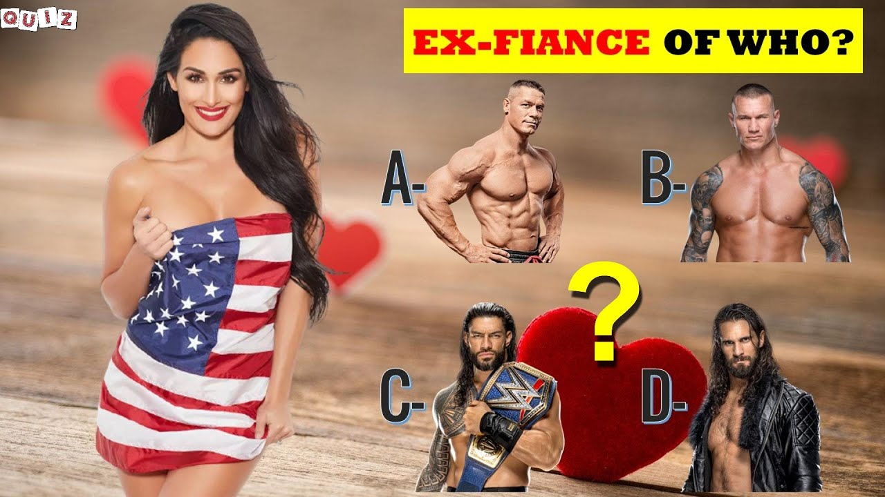 Only True Fans Can Guess WWE Superstars EX WIVES 2021 | WWE Wrestlers Ex-Wife | WWE QUIZ 2021