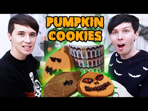Thumbnail: Halloween Baking - PUMPKIN SPICE PUMPKIN COOKIES
