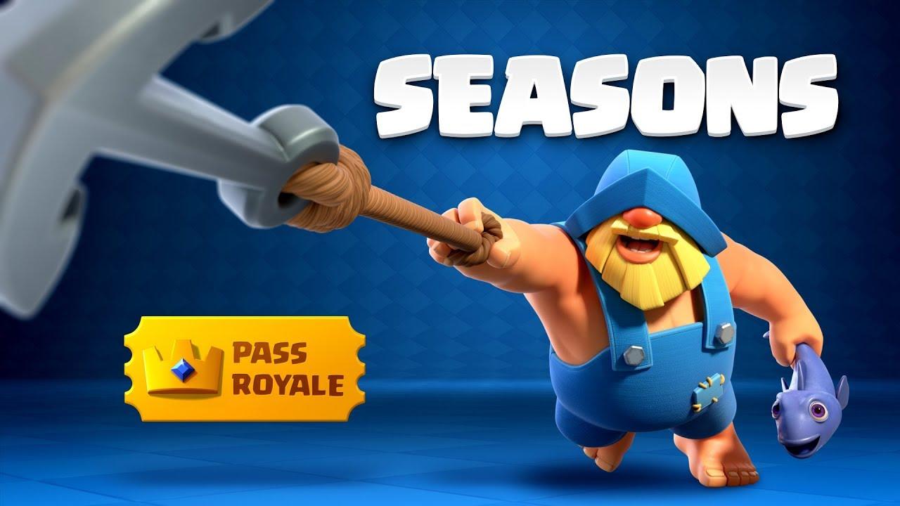 Clash Royale: Introducing Pass Royale & Seasons!