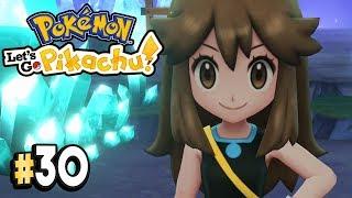 Pokemon Let's Go Pikachu Part 30 TRAINER GREEN BATTLE Walkthrough Gameplay