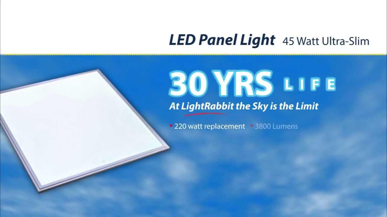 LED Light Panel by LightRabbit