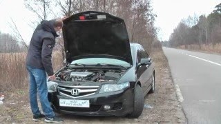 Обзор Honda Accord 2007 2,4 260 тыс. км