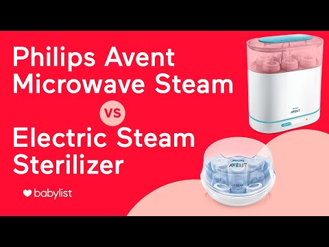 Philips AVENT Sterilizer Comparison: 3-in-1 Electric vs. Microwave Steam