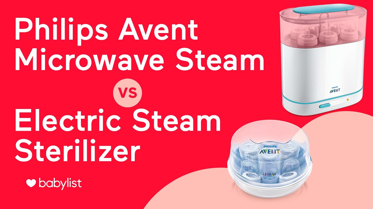 Philips Avent Sterilizer Comparison 3 In 1 Electric Vs Microwave Steam