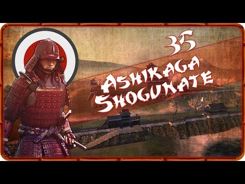 CAUGHT OFF GUARD - Ashikaga Shogunate (Legendary) - Total War: Shogun 2 - Ep.35!