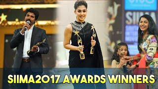 SIIMA2017 Awards Tamil Winners Full List || SIIMA2017 || Tamil Awards || Tamil Cinema