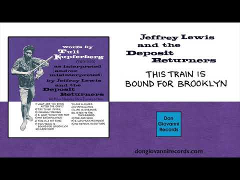Jeffrey Lewis - This Train Is Bound For Brooklyn (Official Audio)