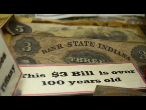 $3 Dollar Bill over 100 years old
