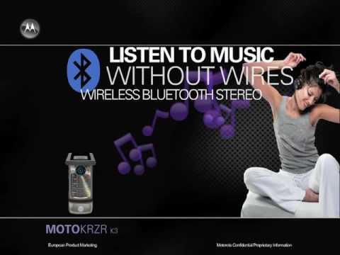 Motorola KRZR K3 Commercial