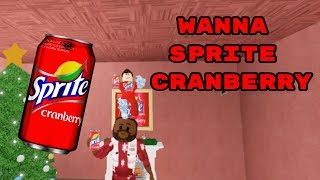 wanna sprite cranberry but in roblox
