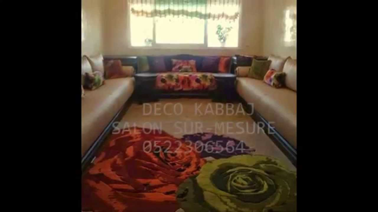 salon marocain et canape youtube. Black Bedroom Furniture Sets. Home Design Ideas