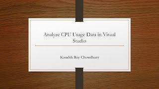 Using the diagnostic tools in Visual Studio 2017