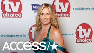 Rod Stewart's Wife Penny Lancaster Has A Huge Wardrobe Whoops On British TV Show 'Loose Women'