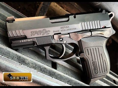 Bersa TPR9C 9mm Compact Pistol