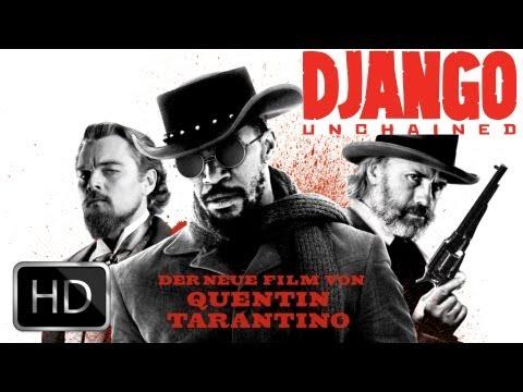 """DJANGO UNCHAINED"" Christoph Waltz, Jamie Foxx | Trailer Deutsch German & Kritik Review [HD]"