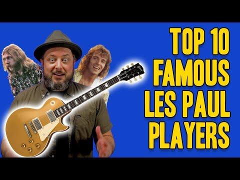 Top 10 Famous Les Paul Players | Marty Schwartz