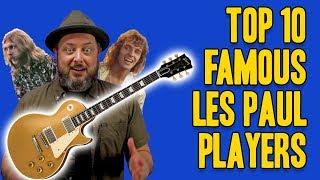 Top 10 Famous Les Paul Players   Marty Schwartz