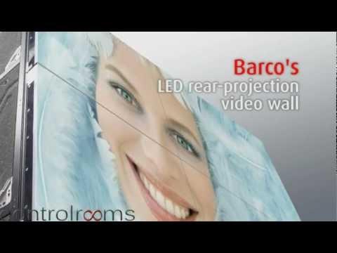 Barco OL-Serie Videowände Mit Rückprojektion