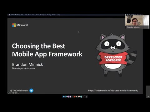 Choosing The Best Mobile Framework