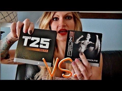 Focus T25 VS. P90X3
