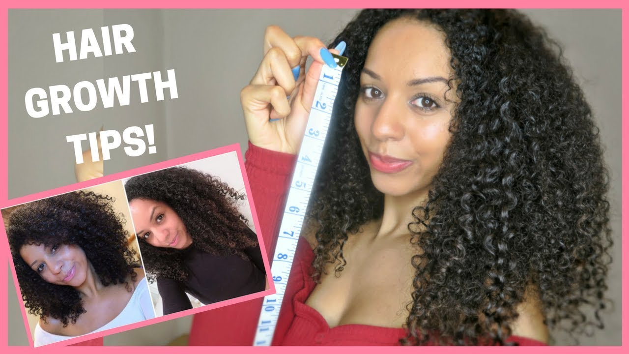 How To Grow Natural Curly Hair Fast Part 1