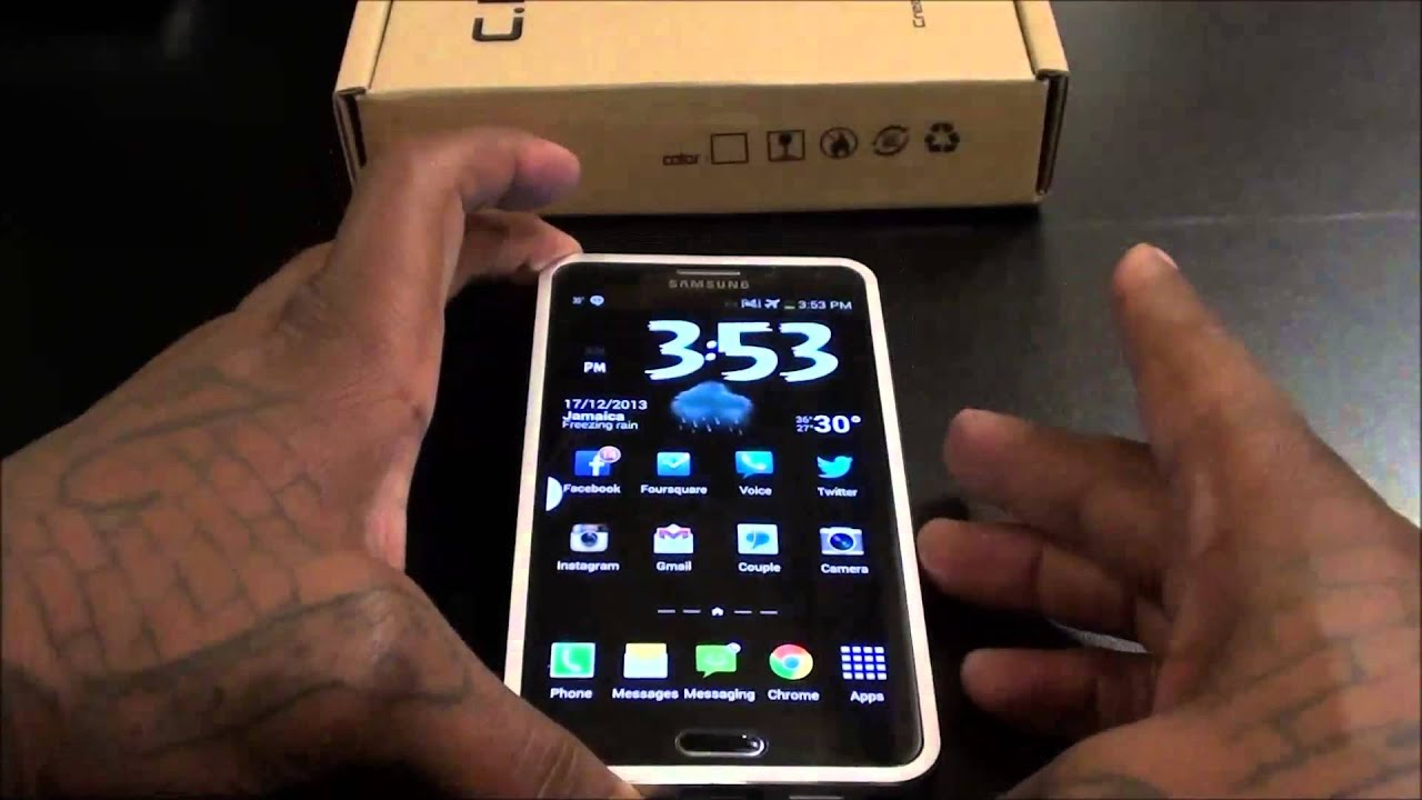 Hottest Galaxy Note 3 Case Ever!!! - YouTube