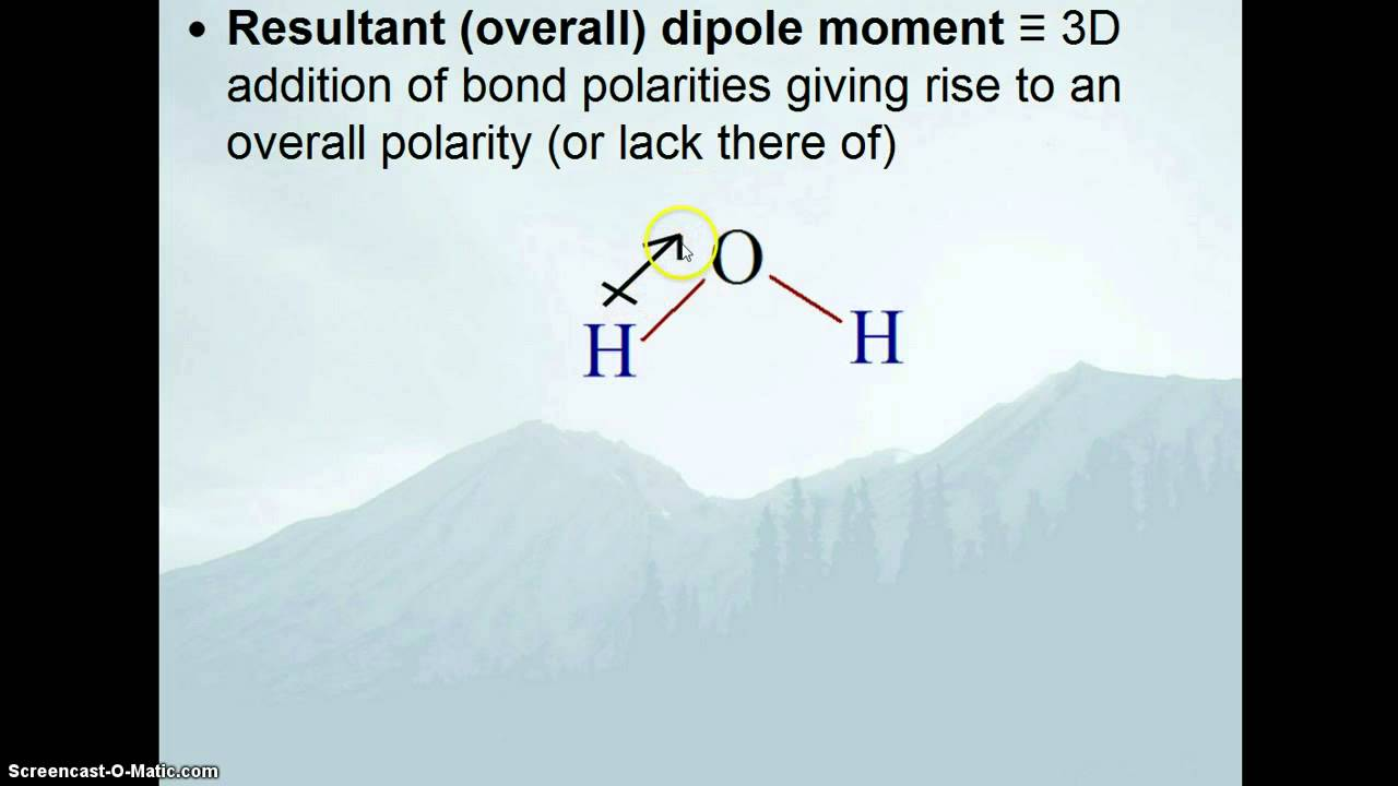 how to find the dipole moment of a molecule