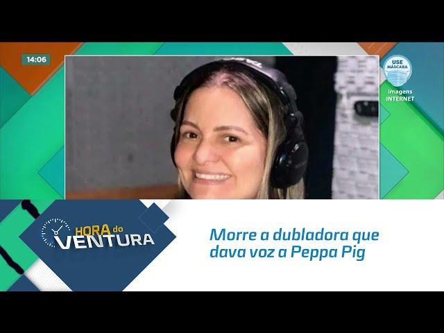 Morre a dubladora que dava voz a Peppa Pig