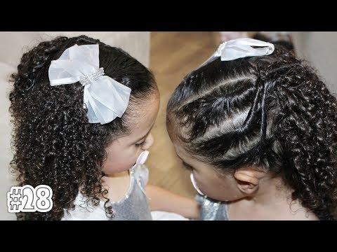 Penteado Infantil Para Daminha Ou Noivinha Com Cabelo