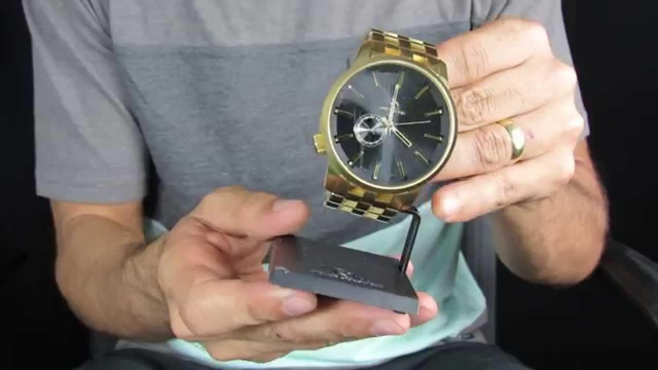 9c181c03d950e Relogio Rip Curl Detroit sss Gold - YouTube