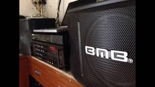 Bộ Âm thanh karaoke giá rẻ, Loa BMB , Amply Jaguar,0978061132