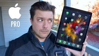 iPad Pro Review (Tablet-Only Edition)