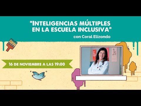 Sesión formativa: Inteligencias múltiples en la escuela inclusiva - Concurso ONCE