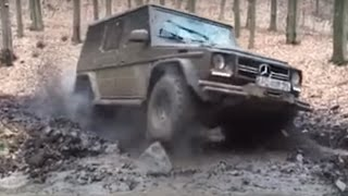 Mercedes G-Class Off road Extreme 2016 Compilation