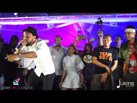"Kes - Hello [LIVE] @ The 2017 Ubersoca Cruise ""2018 Soca"" [HD]"