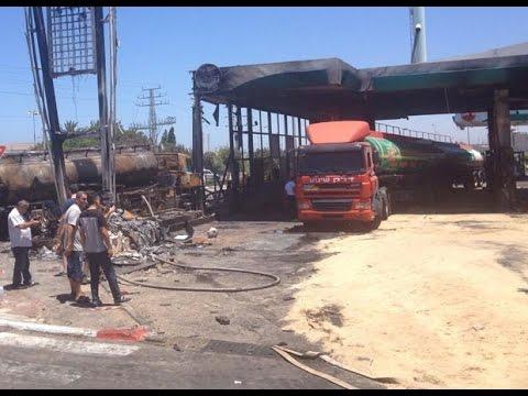 Violence au Proche-Orient : une station service israélienne touchée par une roquette