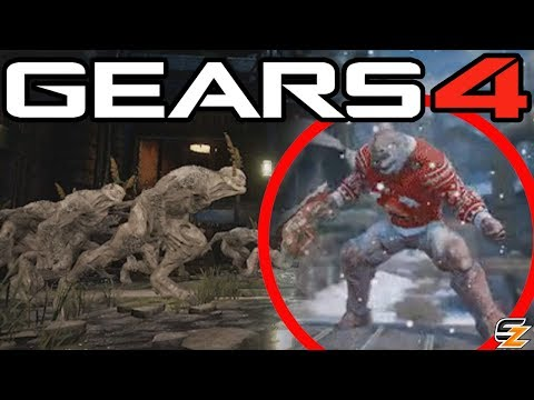 Gears of War 4 - New Swarm Gearsmas Character & Crazy New Horde Variant mode teased!