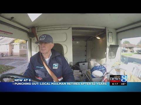 Last route for Wyoming mail carrier after 52 years