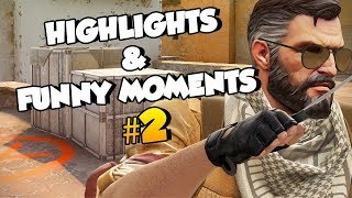 CS:GO Highlights & Funny Moments #2 w/Pro-Digies&Friends