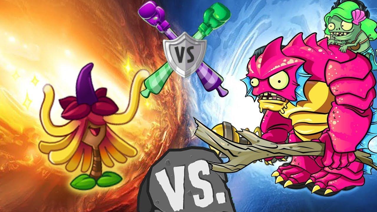 Plants vs Zombies 2 Battle Team Magic Plants vs Every Zombies
