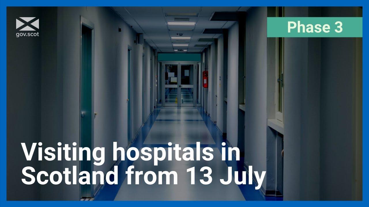 Coronavirus: Update to hospital visits from 13 July
