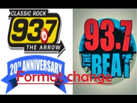 KKRW 93.7 The Arrow stunts & flips to 93.7 The Beat (2013)
